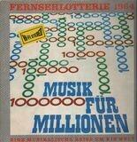 Fernsehlotterie 1964 - Musik Für Millionen - Jankowski-Singers, Heidi Brühl, Esther und Abi Ofraim, ...