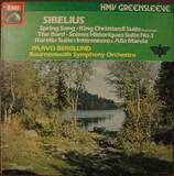 King Christian II Suite; Karelia - Intermezzo & Alla Marcia; The Bard; Scenes Historique - Suite No - Jean Sibelius , Bournemouth Symphony Orchestra , Paavo Berglund