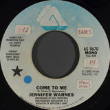 Come To Me - Jennifer Warnes