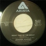 Right Time Of The Night / Daddy Don't Go - Jennifer Warnes
