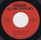 Great Balls Of Fire / High School Confidential - Jerry Lee Lewis