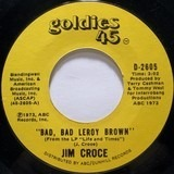 Bad, Bad Leroy Brown / One Less Set Of Footsteps - Jim Croce