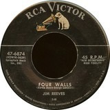 Four Walls / I Know And You Know - Jim Reeves