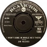 I Won't Come In While He's There / Maureen - Jim Reeves