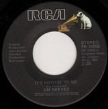 It's Nothin' To Me / I Won't Forget You - Jim Reeves