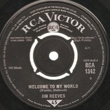 Welcome To My World / My Juanita - Jim Reeves