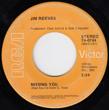 Missing You / The Tie That Binds - Jim Reeves