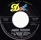 I'll Never Stand In Your Way / Afraid - Jimmie Rodgers