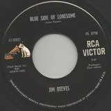 Blue Side Of Lonesome / It Hurts So Much (To See You Go) - Jim Reeves