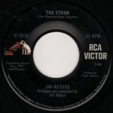 The Storm / Trying To Forget - Jim Reeves