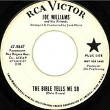 The Bible Tells Me So / Ask Anybody - Joe Williams