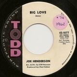 Big Love - Joe Henderson