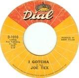 I Gotcha / A Mother's Prayer - Joe Tex