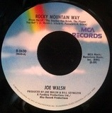 Rocky Mountain Way / (Day Dream) Prayer - Joe Walsh