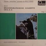 Brandenburgische Konzerte Nr.4, 5, 6 - Johann Sebastian Bach - Basler Kammerorchester , Paul Sacher
