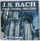 Four Choral Preludes - Johann Sebastian Bach - Erich Vollenwyder
