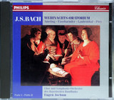 Weihnachts-Oratorium - Johann Sebastian Bach - Eugen Jochum - Elly Ameling / Brigitte Fassbaender / Horst R. Laubenthal /