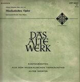 Musikalisches Opfer - Johann Sebastian Bach , Alma Musica