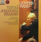 Sinfonie Nr. 1 C-moll, Op. 68 - Brahms - Günter Wand