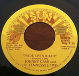 Wide Open Road / Belshazah - Johnny Cash & The Tennessee Two