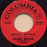 Small World / You Are Everything To Me - Johnny Mathis