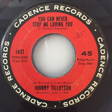 You Can Never Stop Loving Me / Judy, Judy, Judy - Johnny Tillotson