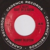 It Keeps Right On A-Hurtin' / She Gave Sweet Love To Me - Johnny Tillotson