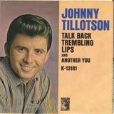 Talk Back Trembling Lips / Another You - Johnny Tillotson