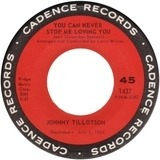 You Can Never Stop Me Loving You / Judy, Judy, Judy - Johnny Tillotson