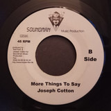 So Many Things To Say / More Things To Say - Joseph Cotton