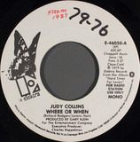 Where Or When - Judy Collins