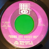 Come See About Me / Sweet Soul - Junior Walker & The All Stars