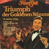 Triumph Der Goldenen Stimme - Karel Gott