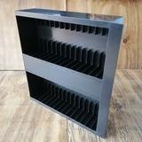 in schwarz, für 30 Stück - Kassetten-Schublade für LP-Box