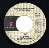 I'm Your Boogie Man / Wrap Your Arms Around Me - KC & The Sunshine Band