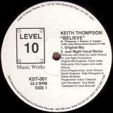 Believe - Keith Thompson