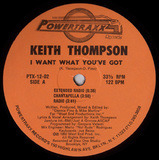 I Want What You've Got - Keith Thompson