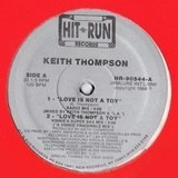 Love Is Not A Toy - Keith Thompson