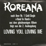 Loving You, Loving Me - Koreana