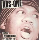 Can't Stop, Won't Stop / The MC / Word Perfect - KRS-One