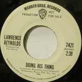 Doing His Thing / Does It Show - Lawrence Reynolds