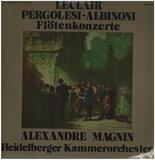 Flötenkonzerte - Leclair, Pergolesi, Albinoni