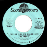You Had To Go And Change On Me - Leif Garrett