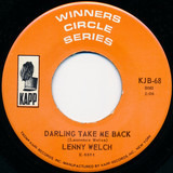 Darling Take Me Back / Two Different Worlds - Lenny Welch