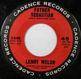 Father Sebastian / If You See My Love - Lenny Welch