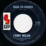 Rags to Riches - Lenny Welch