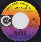 Breaking Up Is Hard To Do / Get Mommy To Come Back Home - Lenny Welch