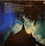 Chichester Psalms / Facsimile - Leonard Bernstein , The New York Philharmonic Orchestra , John Bogart , Camerata Singers , Abraham
