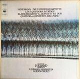 Die 3 Streichquartette / Klavierquartett & -quintett Es-Dur - Schumann (Juilliard / Bernstein / Gould)