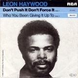 Don't Push It Don't Force It - Leon Haywood